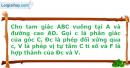 Bài 61 trang 15 SBT Hình Học 11 Nâng cao