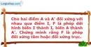 Bài 64 trang 15 SBT Hình học 11 Nâng cao