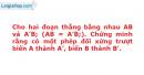 Bài 68 trang 16 SBT Hình học 11 Nâng cao