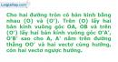 Bài 70 trang 16 SBT Hình học 11 Nâng cao