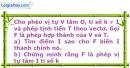 Bài 71 trang 16 SBT Hình học 11 Nâng cao