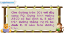 Bài 72 trang 17 SBT Hình học 11 Nâng cao