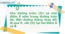Bài 73 trang 17 SBT Hình học 11 Nâng cao
