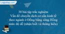 30 bài tập Vấn đề chuyển dịch cơ cấu kinh tế theo ngành ở Đồng bằng sông Hồng mức độ dễ