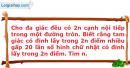 Bài 2.33 trang 65 SBT Đại số và Giải tích 11 Nâng cao