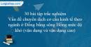 30 bài tập Vấn đề chuyển dịch cơ cấu kinh tế theo ngành ở Đồng bằng sông Hồng mức độ khó