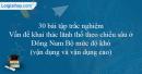 30 bài tập Vấn đề khai thác lãnh thổ theo chiều sâu ở Đông Nam Bộ mức độ khó