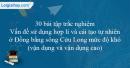 30 bài tập Vấn đề sử dụng hợp lí và cải tạo tự nhiên ở Đồng bằng sông Cửu Long mức độ khó