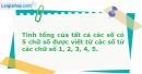 Bài 2.62 trang 70 SBT Đại số và Giải tích 11 Nâng cao