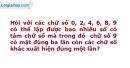 Bài 2.64 trang 70 SBT Đại số và Giải tích 11 Nâng cao
