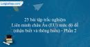 25 bài tập Liên minh châu Âu (EU) mức độ dễ (Phần 2)