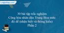 30 câu trắc nghiệm Cộng hòa nhân dân Trung Hoa (Trung Quốc) mức độ dễ - Phần 2