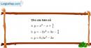 Bài 2.30 trang 35 SBT Đại số 10 Nâng cao