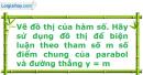 Bài 2.33 trang 35 SBT Đại số 10 Nâng cao