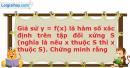 Bài 2.38 trang 36 SBT Đại số 10 Nâng cao
