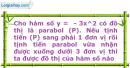 Bài 2.40 trang 36 SBT Đại số 10 Nâng cao