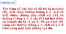 Bài 2.41 trang 37 SBT Đại số 10 Nâng cao