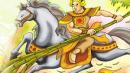 Viết đoạn văn kể chuyện Thánh Gióng cưỡi ngựa sắt xông trận, giết giặc Ân