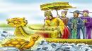 Viết đoạn văn về chi tiết Rùa vàng đòi lại gươm