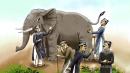 Viết đoạn văn nêu cảm nghĩ của em về 5 ông thầy bói trong truyện Thầy bói xem voi