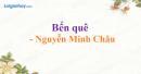 Bến quê - Nguyễn Minh Châu