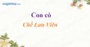 Con cò - Chế Lan Viên
