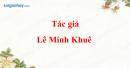 Tác giả Lê Minh Khuê