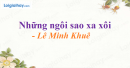 Những ngôi sao xa xôi - Lê Minh Khuê