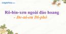 Rô-bin-xơn ngoài đảo hoang - Đe-ni-ơn Đi-phô