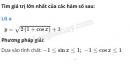 Câu 3 trang 41 SGK  Đại số và Giải tích 11