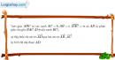 Bài 12 trang 40 SBT Hình học 10 Nâng cao
