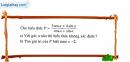 Bài 1 trang 38 SBT Hình học 10 Nâng cao
