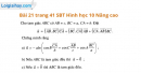 Bài 21 trang 41 SBT Hình học 10 Nâng cao