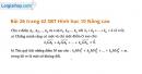 Bài 26 trang 42 SBT Hình học 10 Nâng cao