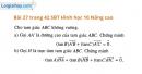 Bài 27 trang 42 SBT Hình học 10 Nâng cao