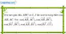 Bài 83 trang 51 SBT Hình học 10 Nâng cao