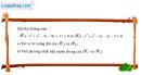Bài 56 trang 109 SBT Hình học 10 Nâng cao