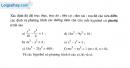 Bài 73 trang 114 SBT Hình học 10 Nâng cao