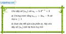 Câu 3.12 trang 87 sách bài tập Đại số và Giải tích 11 Nâng cao