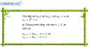 Câu 3.13 trang 87 sách bài tập Đại số và Giải tích 11 Nâng cao