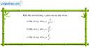 Câu 3.16 trang 87 sách bài tập Đại số và Giải tích 11 Nâng cao