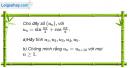Câu 3.22 trang 89 sách bài tập Đại số và Giải tích 11 Nâng cao