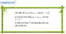 Câu 3.23 trang 89 sách bài tập Đại số và Giải tích 11 Nâng cao