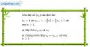 Câu 3.24 trang 89 sách bài tập Đại số và Giải tích 11 Nâng cao