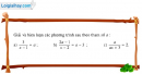 Câu 3.27 trang 62 SBT Đại số 10 Nâng cao