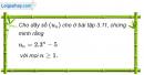 Câu 3.27 trang 90 sách bài tập Đại số và Giải tích 11 Nâng cao