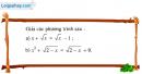 Câu 3.3 trang 58 SBT Đại số 10 Nâng cao