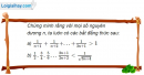 Câu 3.3 trang 86 sách bài tập Đại số và Giải tích 11 Nâng cao