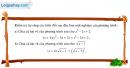 Câu 3.6 trang 59 SBT Đại số 10 Nâng cao