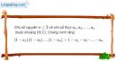 Câu 3.7 trang 86 sách bài tập Đại số và Giải tích 11 Nâng cao